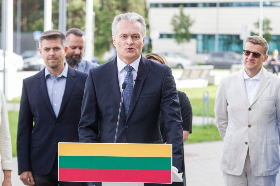 G. Nausėda dalyvaus prezidento rinkimuose