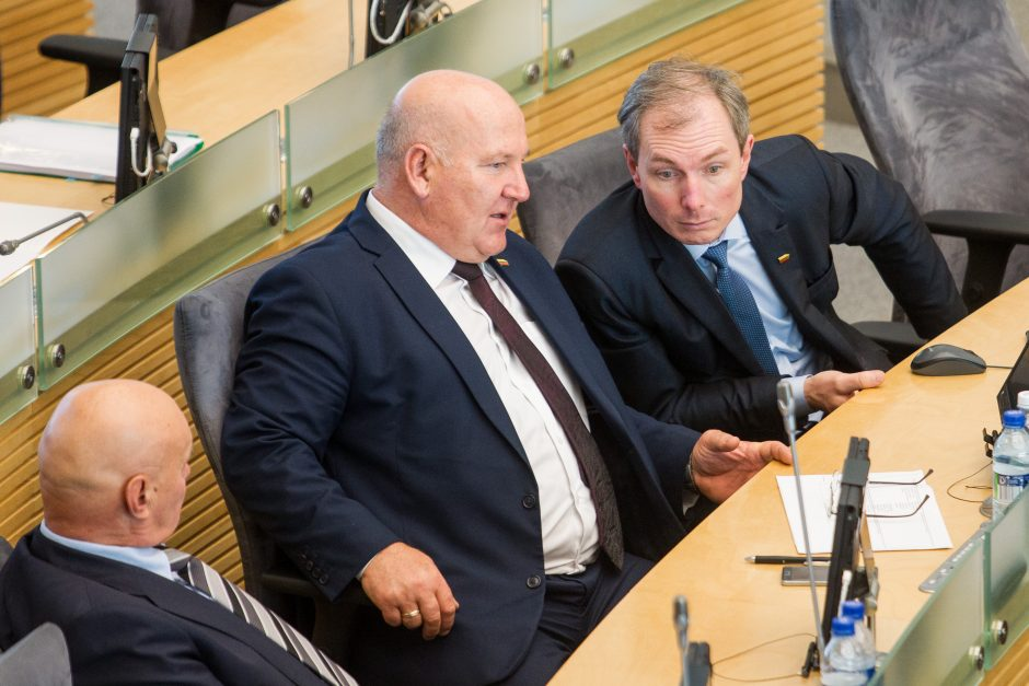 Premjeras atsakinėjo į opozicijos klausimus