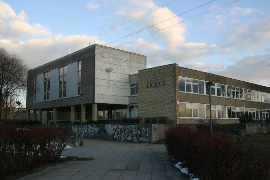 Vilniaus licėjus ruošiasi kapitaliniam remontui