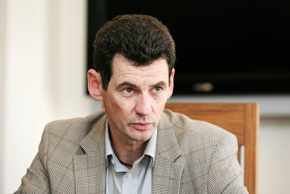 Dėl sostinės mero posto varžysis ir buvęs europarlamentaras A. Degutis