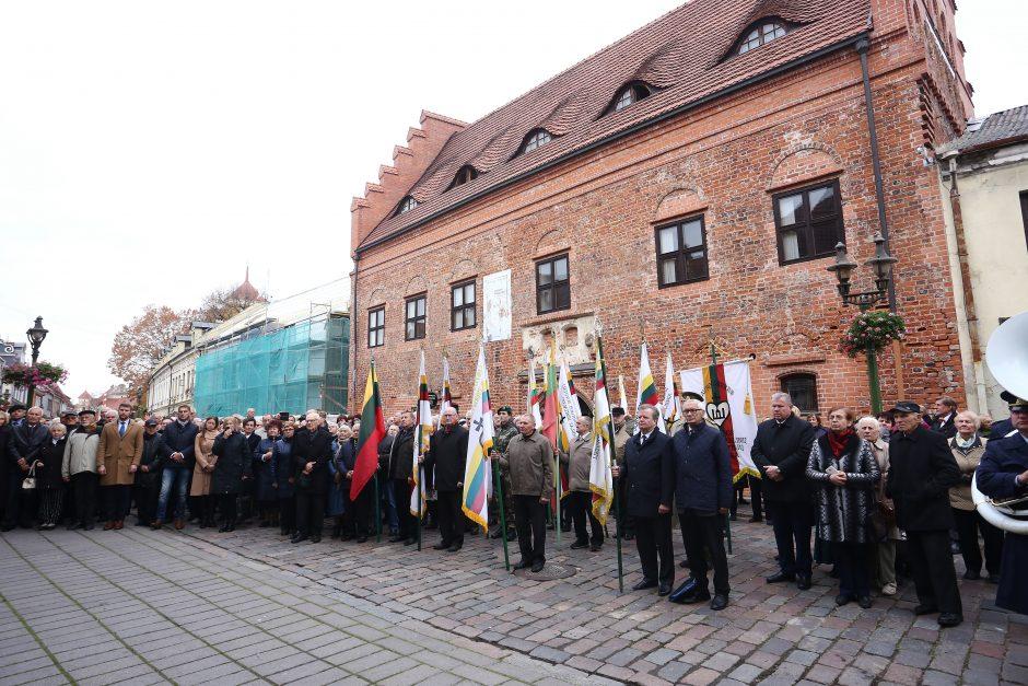 Politinių kalinių ir tremtinių sąjungos 30-mečio minėjimas Kaune