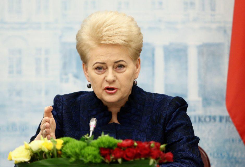 Patarėjas: prezidentė nebijo jokių komisijų ir atsakys į visus klausimus