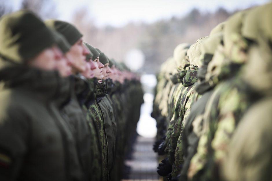 Vilniuje įkurtas naujas kariuomenės dalinys – Ryšių batalionas