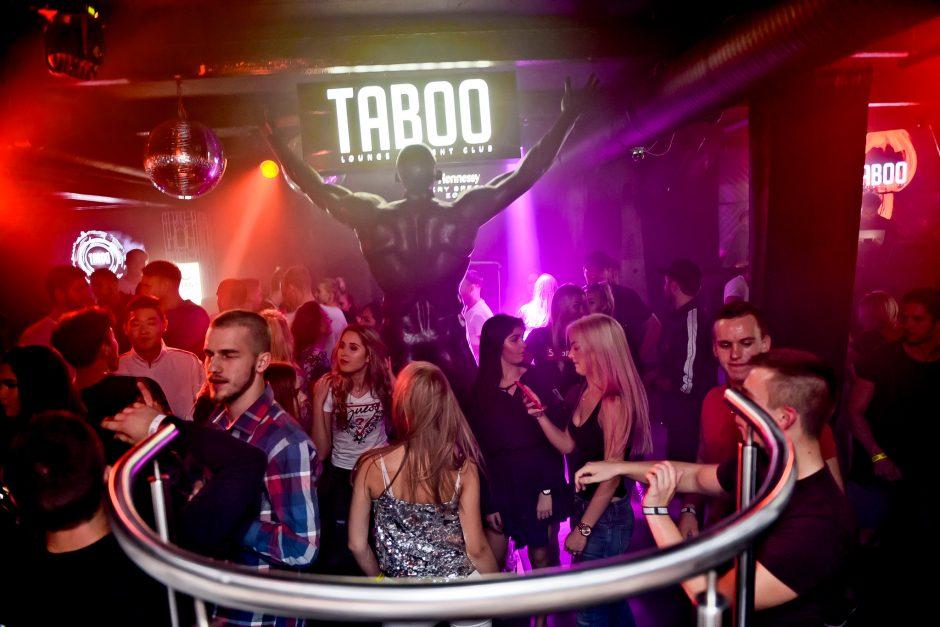 """""""Taboo"""" klube – sausakimša šokių aikštelė"""