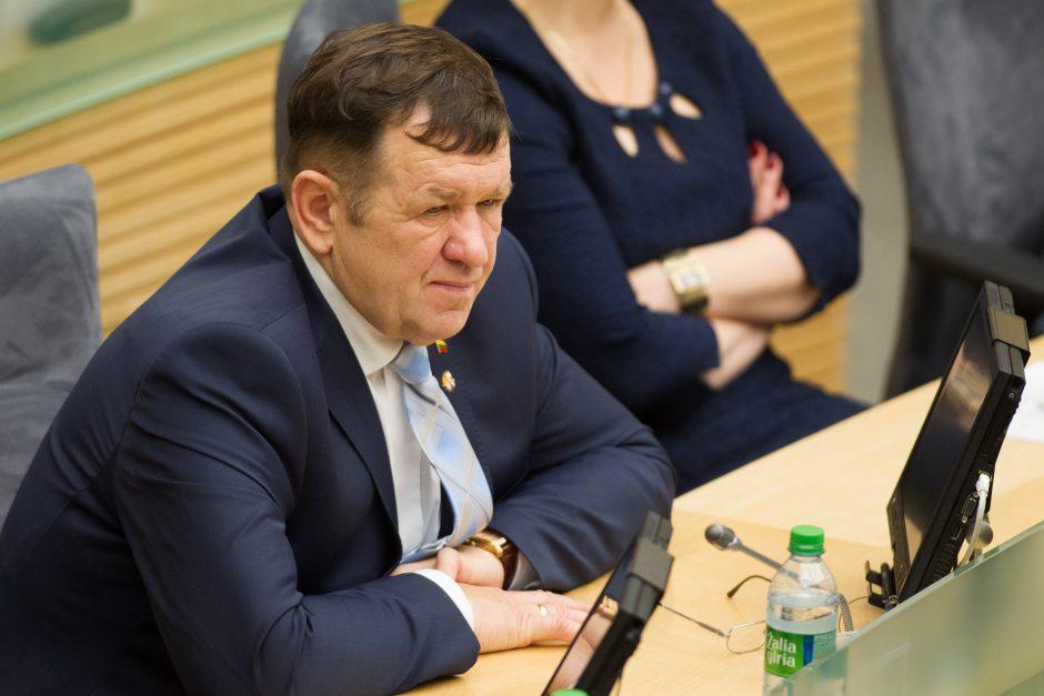 K. Pūko ir Etikos komisijos ginčas išnagrinėtas per pusvalandį