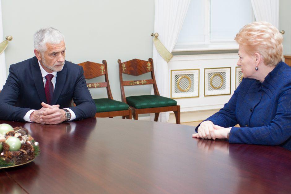 D. Grybauskaitė laukia premjero sprendimo dėl B. Markausko