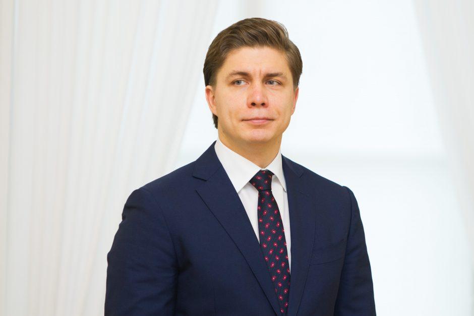 M. Sinkevičius: vidaus sandoriai turi būti reglamentuojami griežčiau