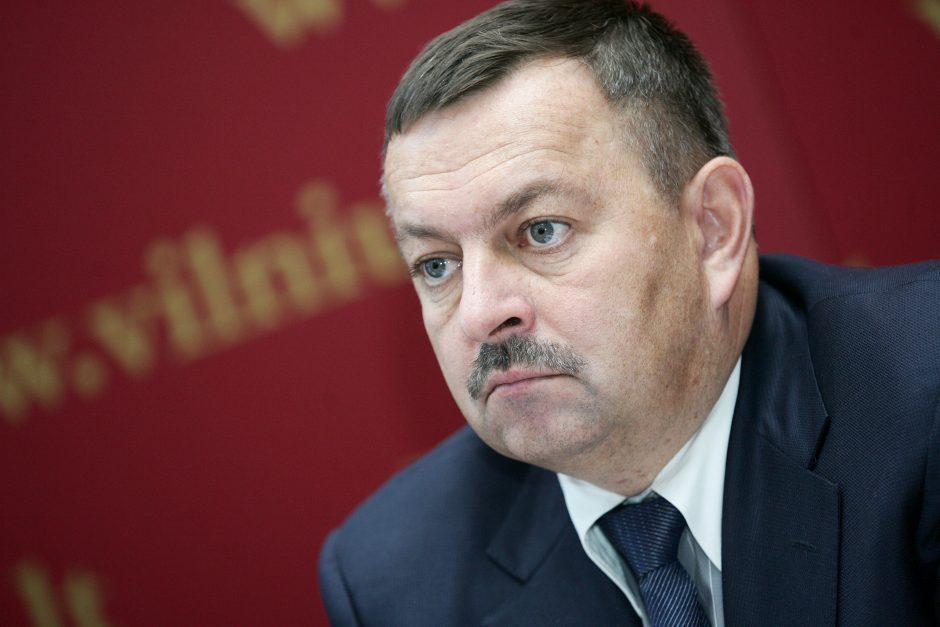 Buvęs Vilniaus meras reikalauto milijono iš valstybės negaus