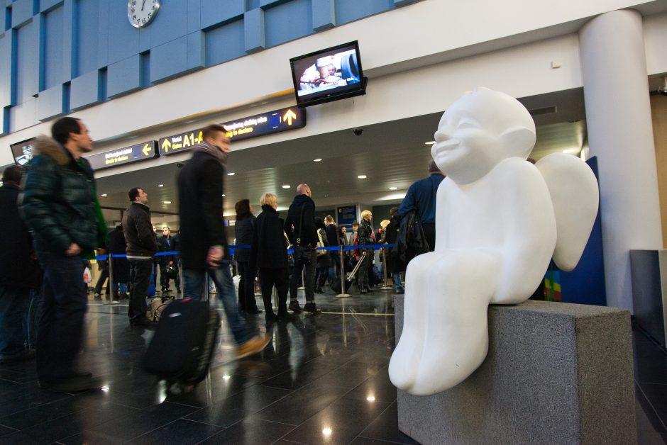 Vilniaus oro uoste – tualetų remontas