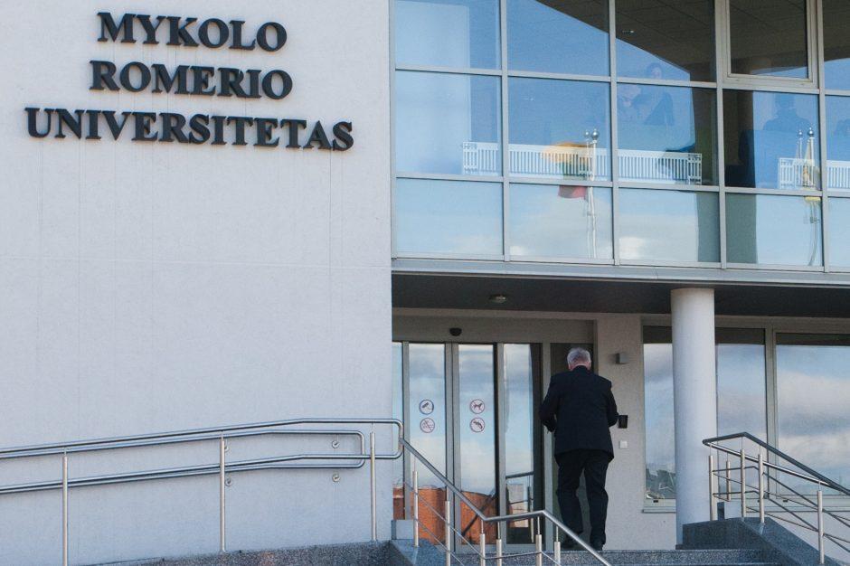 Pajudėjo: siūloma pradėti M. Romerio universiteto jungimą prie VGTU