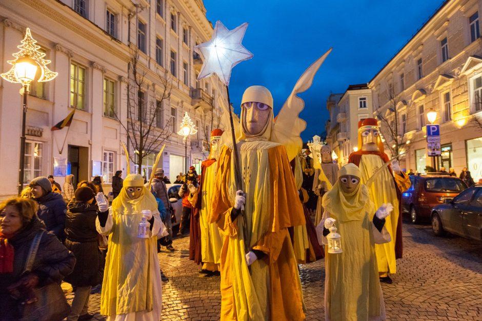 Žiemos švenčių kulminacija – Trijų Karalių eitynės