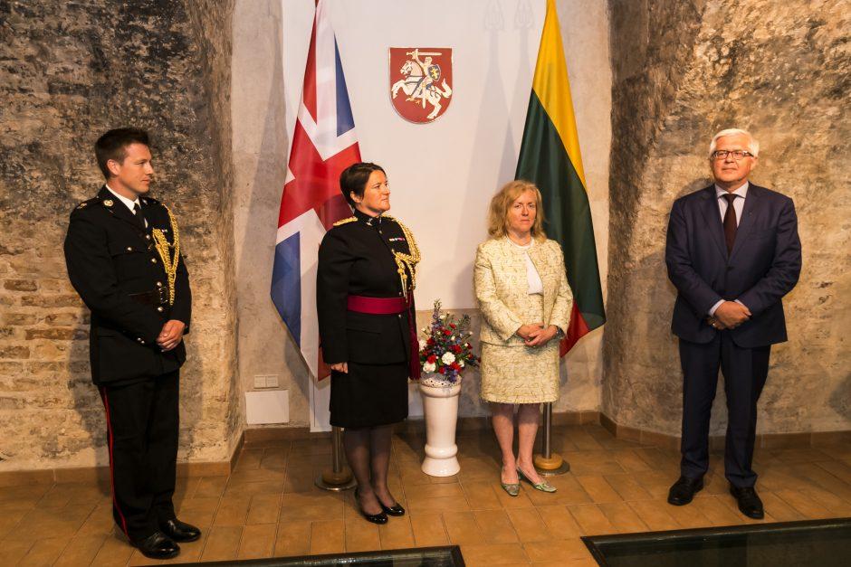 Pasikeitė Jungtinės Karalystės gynybos atašė Lietuvai