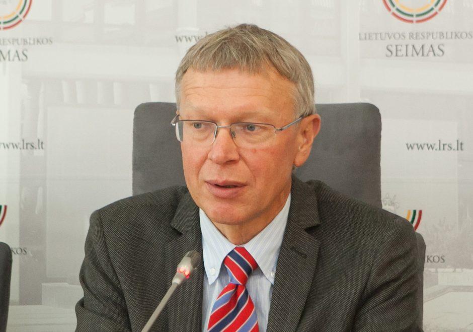 Seime skinasi kelią iniciatyva tirti nederamą įtaką politikai 2008-2016 metais