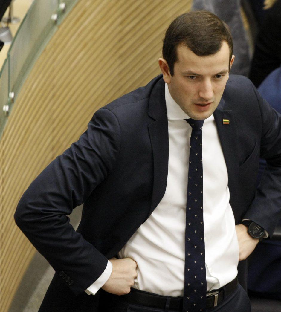 V. Sinkevičius ketina peržiūrėti pelno mokesčio lengvatos taikymą