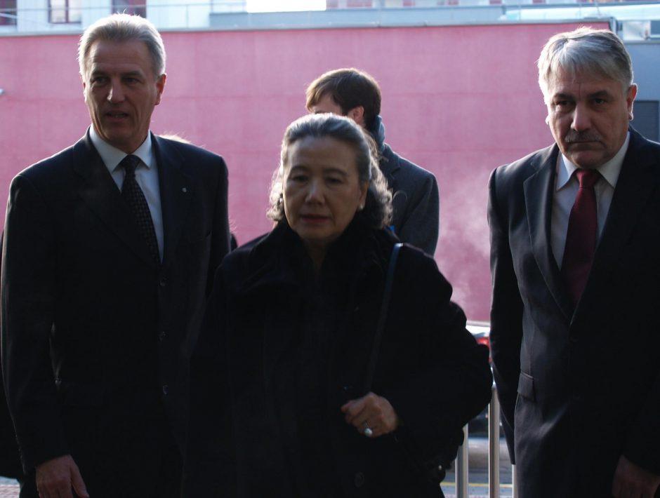Jungtinių Tautų generalinio sekretoriaus žmona aplankė Santariškių klinikas