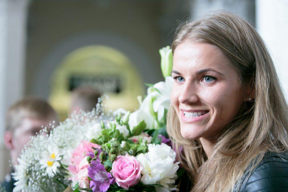 Europos čempionė A. Palšytė: vietoje euforijos jaučiau vidinę ramybę