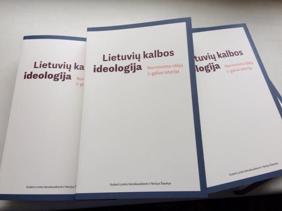 """Ideologiniai """"Lietuvių kalbos ideologijos"""" pagrindai (recenzija)"""