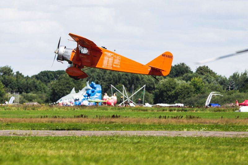 """Aviacijos šventės pradžią paskelbė """"Lituanica"""""""