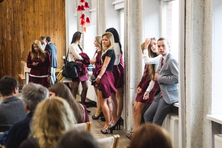 Į Kauno mokyklas sugrįžo per 30 tūkst. moksleivių