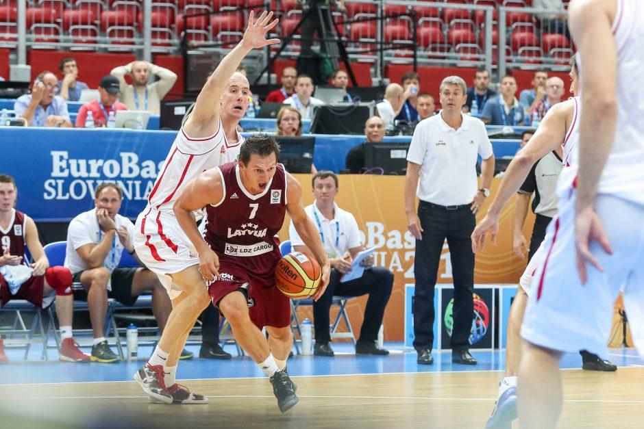 Eurobasket: Latvija - Montenegro