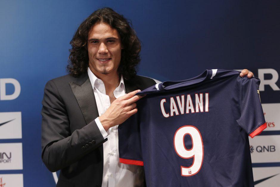 Oficialu: E. Cavani papildė PSG klubą