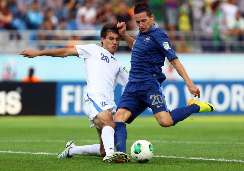 Pasaulio jaunimo futbolo čempionato finale - Prancūzija ir Urugvajus