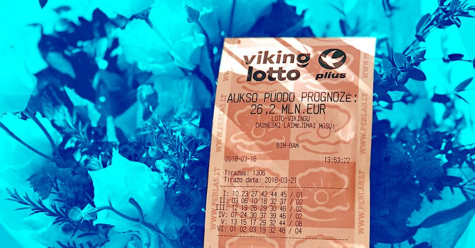 "NAUJIENA! ""Vikinglotto"" Plius – tavo bilietas su pliusu!"