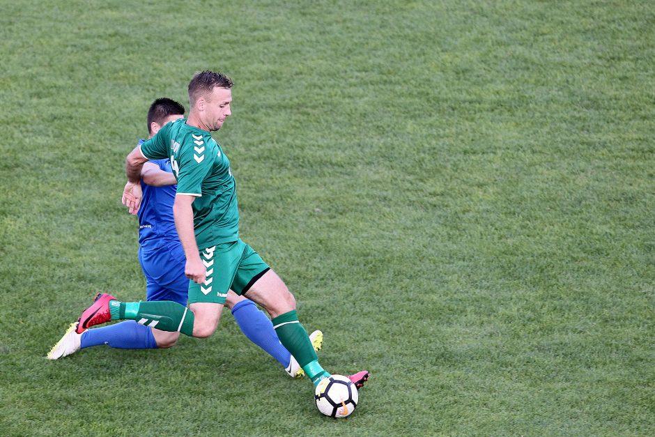 """""""Kauno Žalgiris"""" įveikė """"Palangą"""" ir iškopė į LFF taurės pusfinalį"""