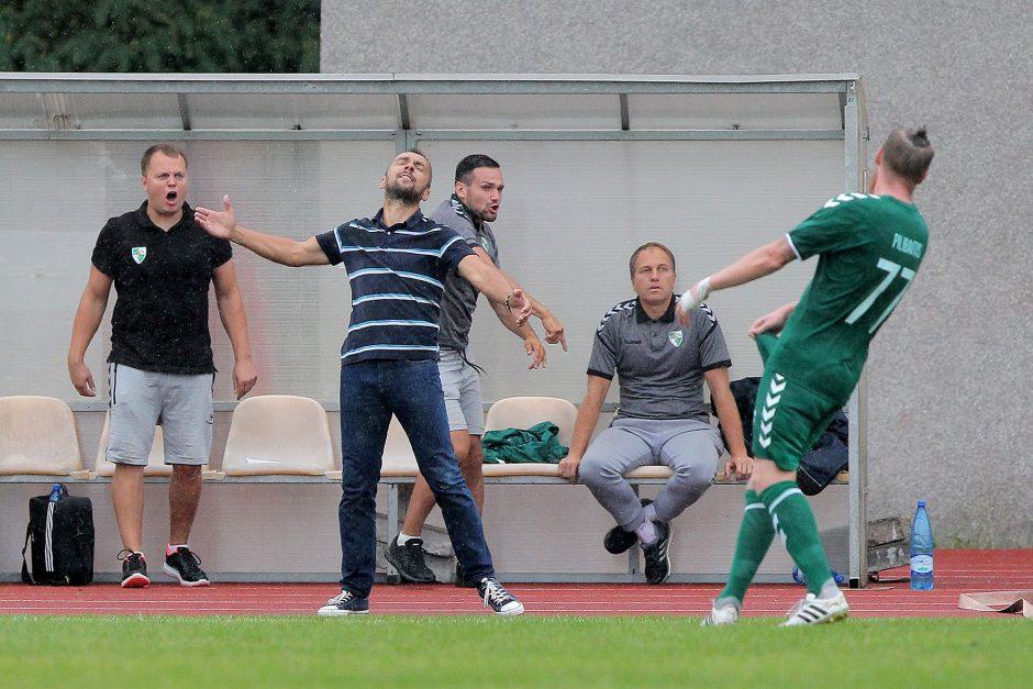 """A lyga: """"Kauno Žalgiris"""" – """"Stumbras"""" 0:2"""