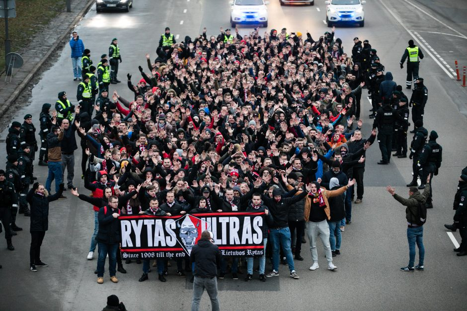 """""""Ryto"""" sirgaliai Kaune"""