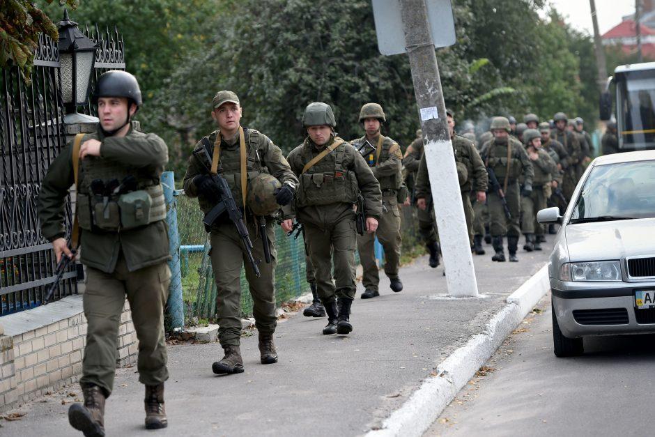 ES pratęsė sankcijas dėl konflikto Ukrainoje