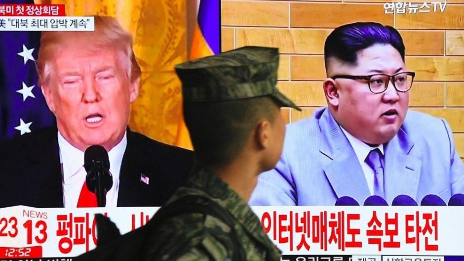 Ekspertai nerimauja dėl JAV ir Šiaurės Korėjos derybų