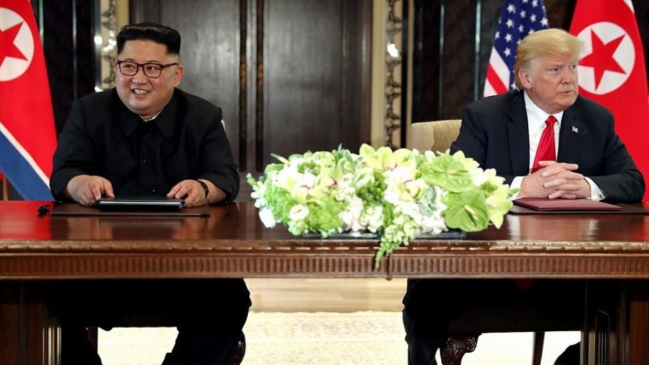 Apžvalgininkas: atsisakydama branduolinio ginklo, Š. Korėja pasmerktų savo režimą