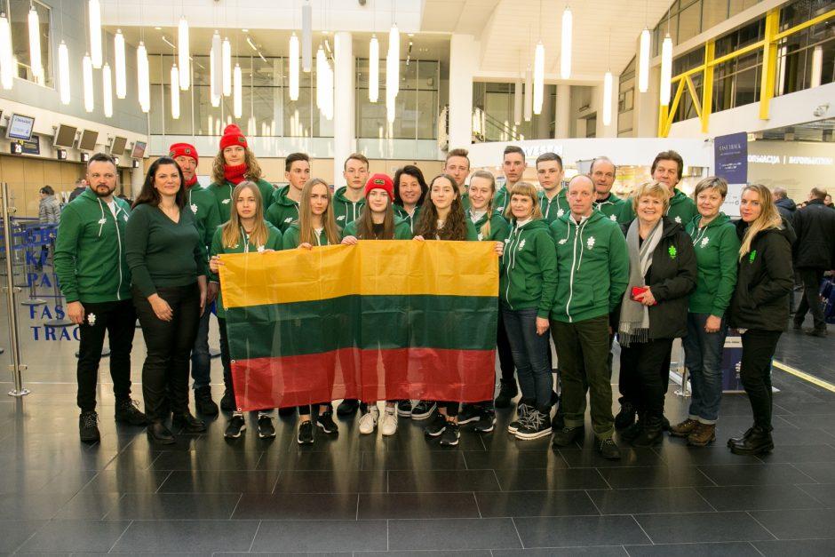 Į Sarajevą išvyko ne visi lietuviai – namuose liko P. Ramanauskaitė