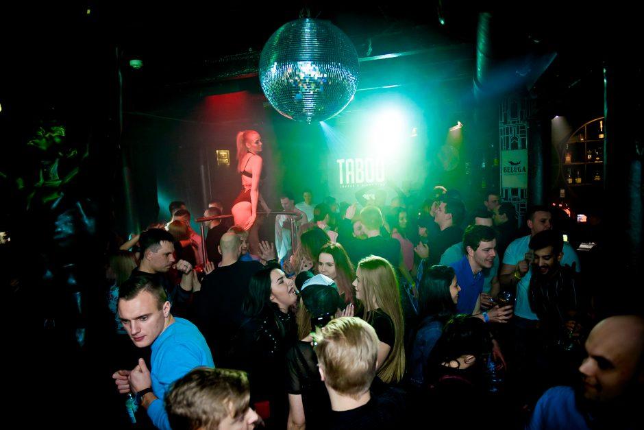"""Taboo"" klube vyko ""Taboo Revolution"" vakarėlis"