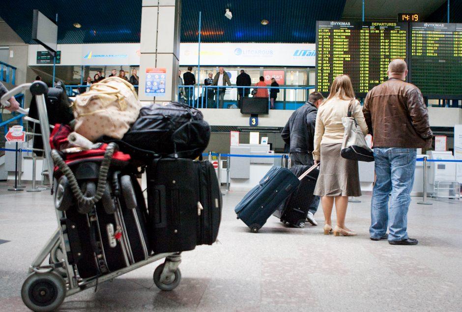 Prie Vilniaus oro uosto ilgapirščiai apšvarino vyrą