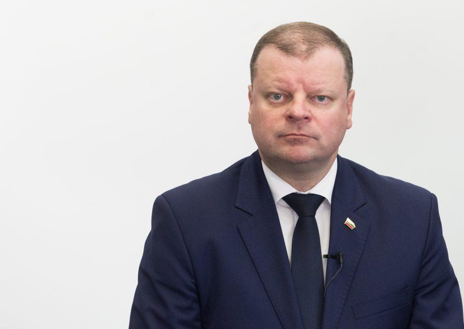Premjeras: reformų svarstymas Seime nestringa