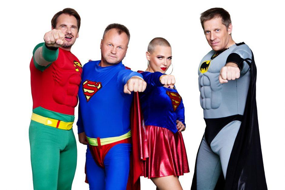 """""""X Faktoriaus"""" teisėjai įsiamžino fotosesijoje – virto superherojais"""