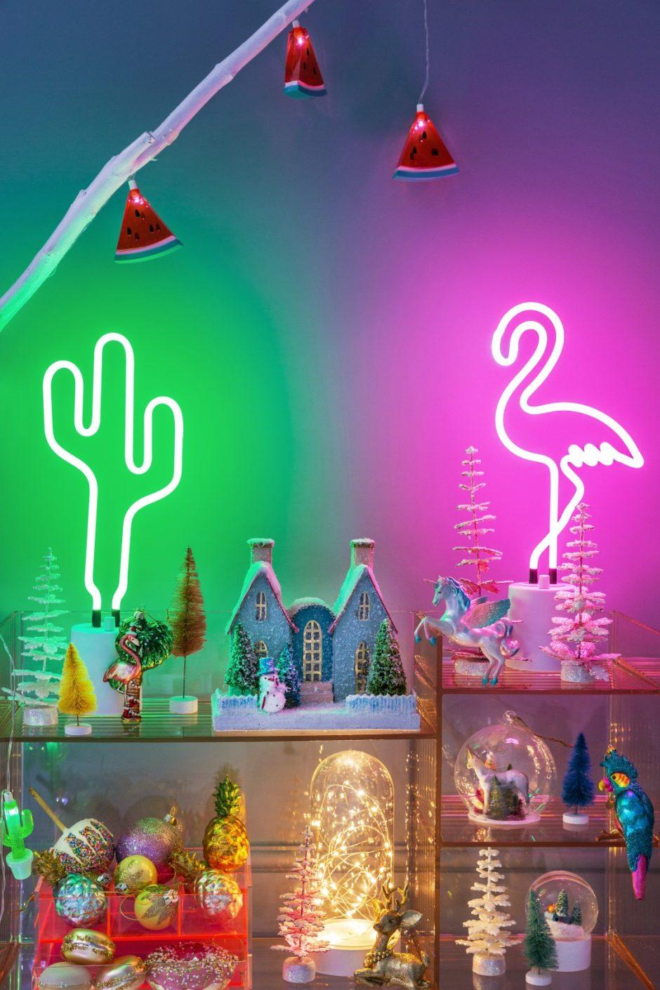 Šventiniai namai: natūralumas ar neonas?
