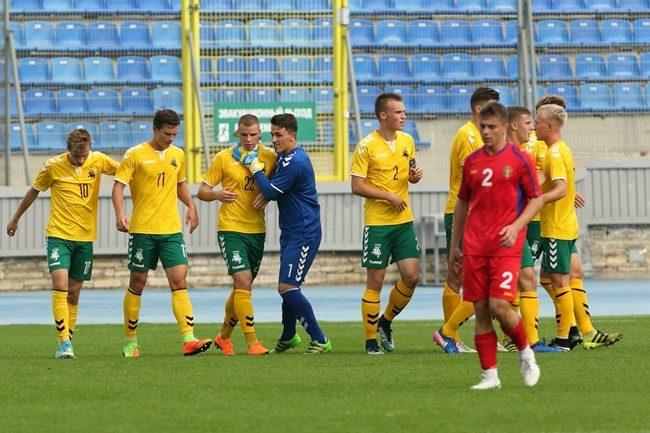 Lietuvos devyniolikmečių žygį link finalo nutraukė vienintelis praleistas įvartis