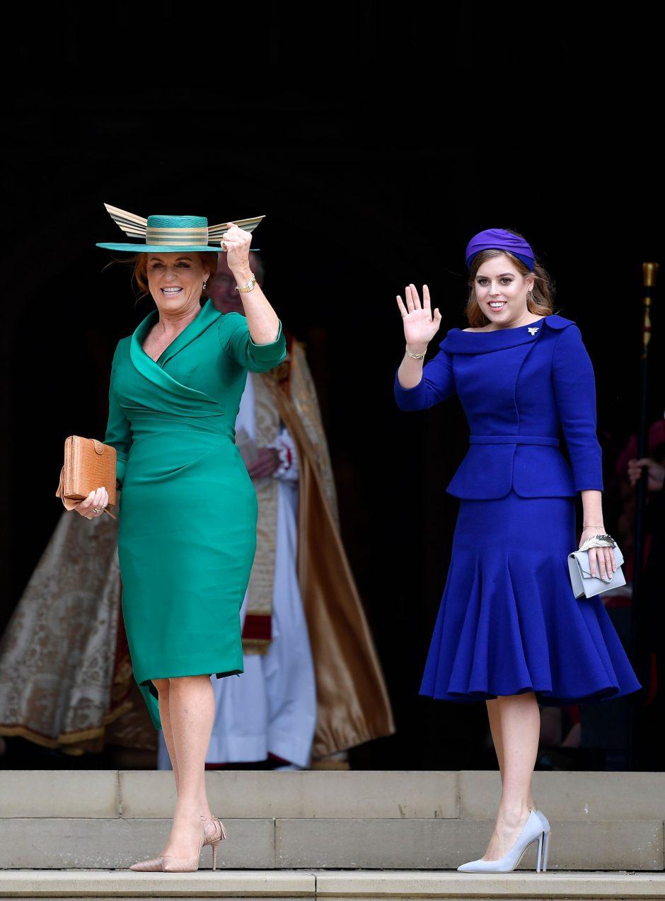 Didžiosios Britanijos princesės Eugenie vestuvės