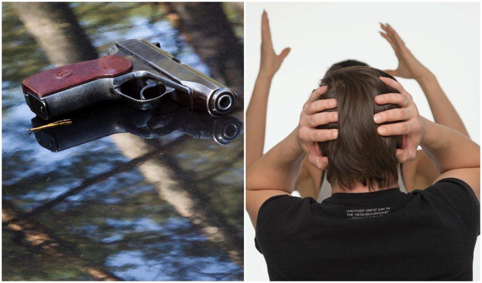 Poros konfliktas Anykščiuose vos nesibaigė šaudynėmis