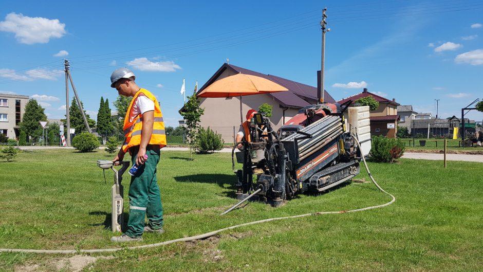 Stichijų pamokos: elektros oro linijas keičia požeminiai kabeliai