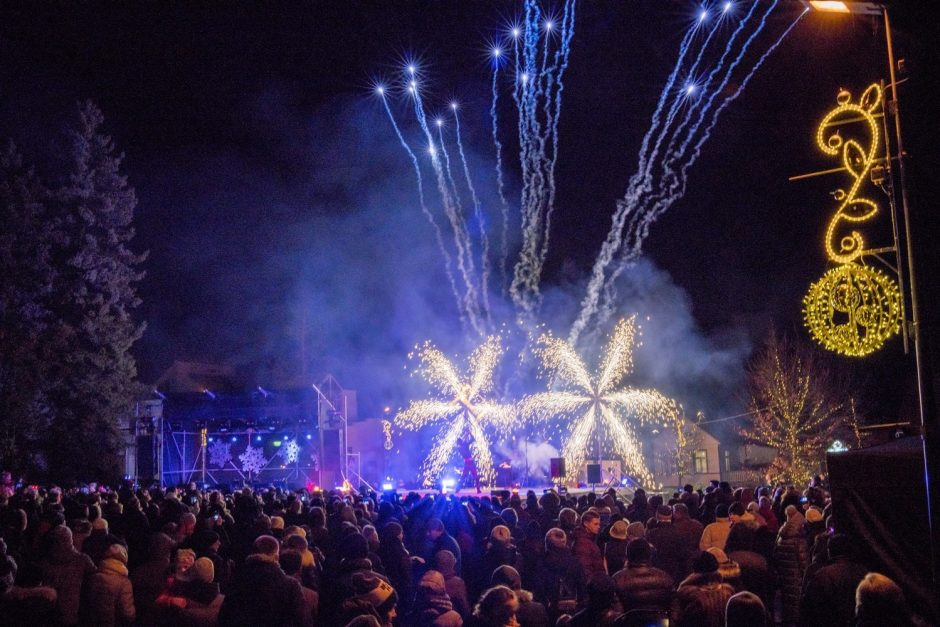 Kalėdos Birštone: per 40 renginių ir norus pildantis stebuklingas fėjų skveras