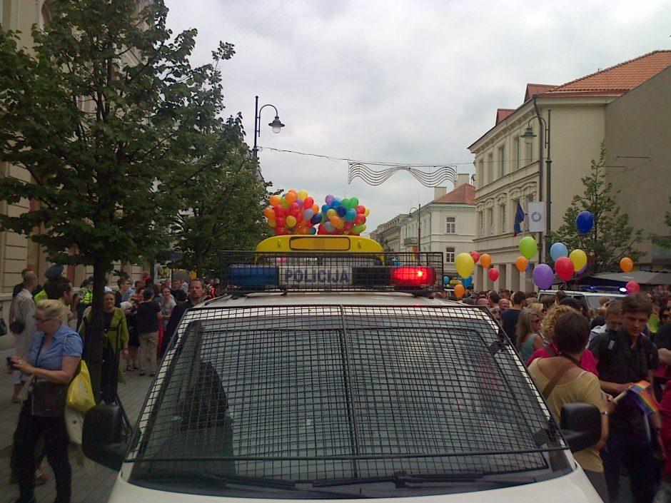 Eitynės Vilniuje: sulaikytas V.Šustauskas ir P.Gražulis, politikei į veidą pataikė kiaušinis