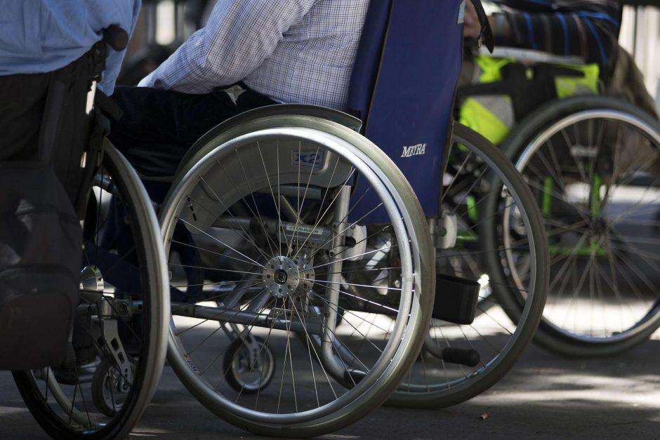 Siūloma keisti kompensacijas neįgaliesiems