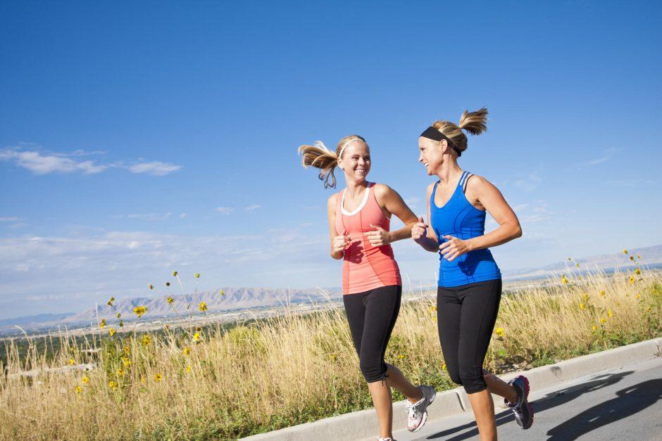Asmeninė trenerė: norint numesti svorio, pradėti reikia ne nuo sporto