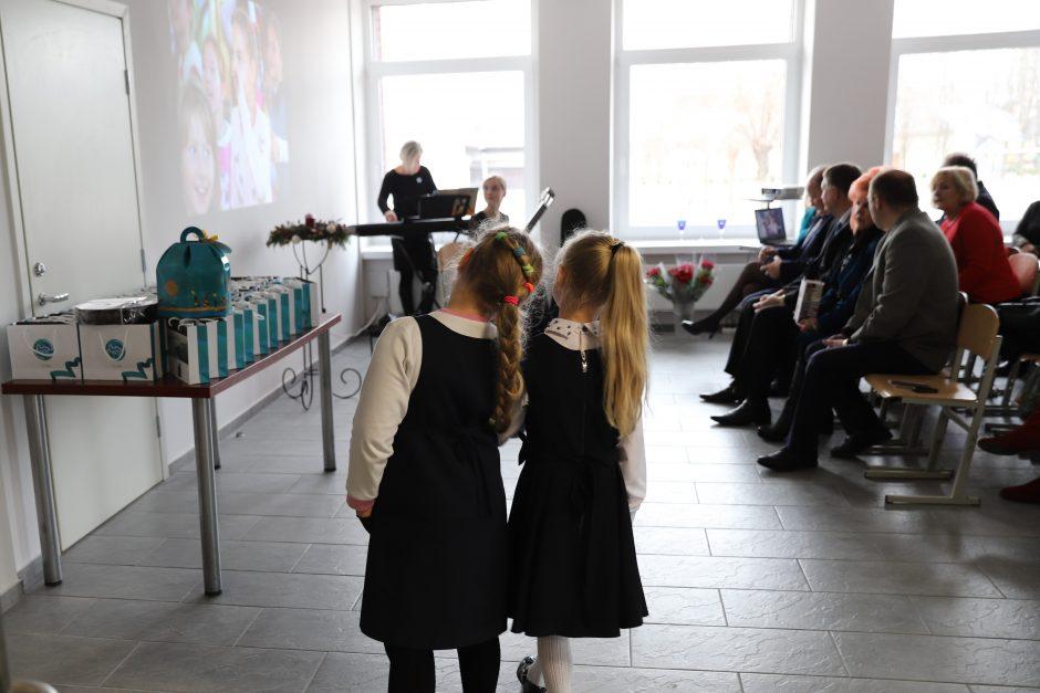 Piliuonos gimnazijos bendruomenė sugrįžta į atnaujintas patalpas