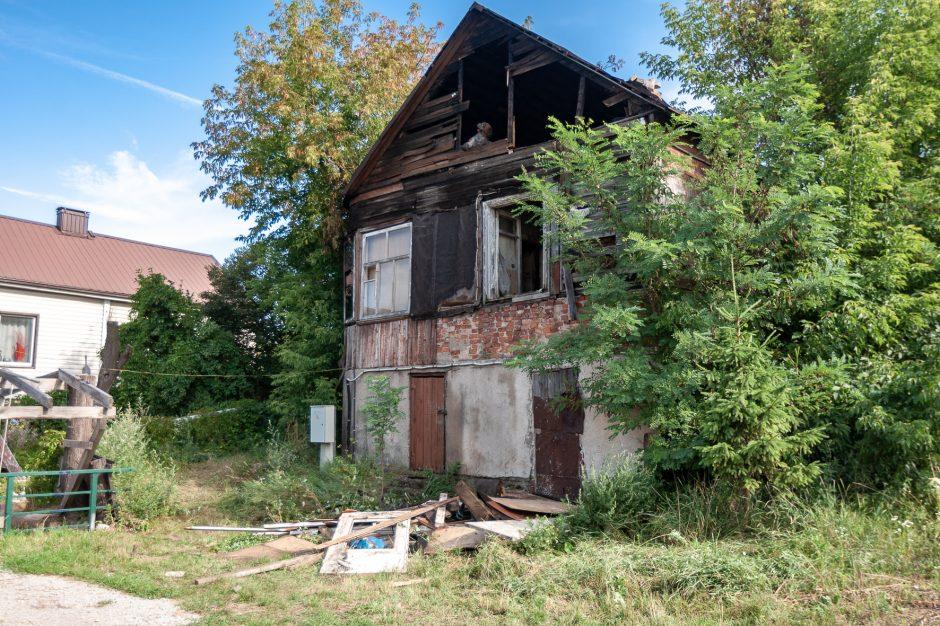 Tragiškas gaisras Kaune: liepsnose žuvo vyras (atnaujinta)