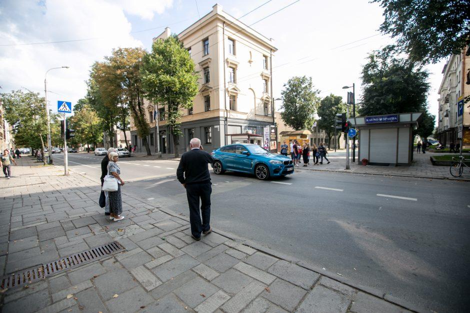 Kęstučio gatvėje – pokyčiai pėstiesiems ir vairuotojams
